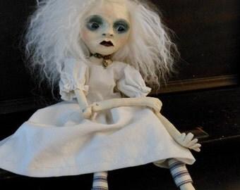 OOAK Art doll by Lotus Asylum Creepy Gothic