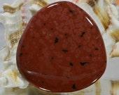 Ocean Jasper 35.2x35x4.6mm Natural Gemstone Cabochon Jewelry Supplies Ocean Jasper