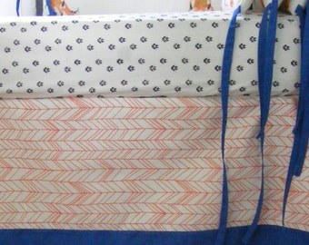 Baby Bedding Crib Bedding  Ready to Ship Fox Nursery Bedding