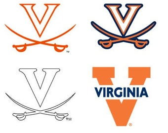 Virginia/ University of Virginia Decal/RTIC YETI  Car Decal, Computer Decal, Window Decal, Cell Phone Decal