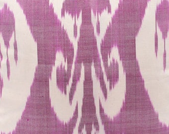 Sale! Ikat Fabric, Ikat Fabric by the yard, Hand Woven Fabric , F-A434