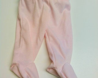 One Pair Newborn Footed Pants