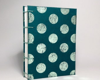 Mint Polka Dot Journal