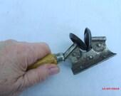 Knife Sharpener, Vintage Edlund Sure Sharp No. 3, Burlington, VT Mfg., Antique 1930s knife sharpener....