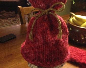 Valentines heart baby hat