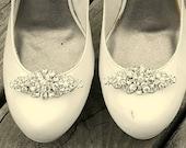 Wedding Shoe Clips, Vintage Style Shoe Clips, Bridal Shoe Clips, Swarovski Rhinestone Shoe Clips, Shoe CLips for Bridal Shoes, Wedding Shoes