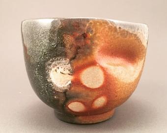 Soda fired tea bowl