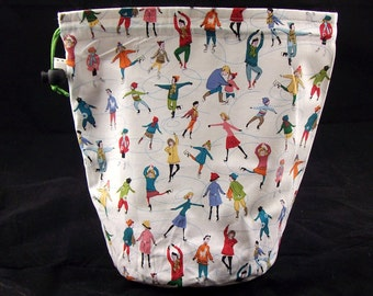 R/S Project bag 302 Ice Skaters