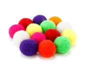 Asorted Color Felt Ball Slingshot Ammo