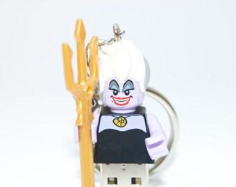 128GB Ursula USB Flash Drive with Key Chain