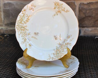 Old English plates