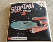 C136)  Vintage STAR TREK GAF View Master Reel Original Packet Set