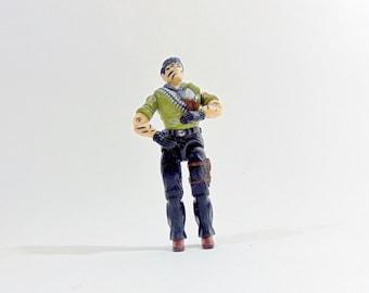 Gi Joe, V1, 1987, Vintage, Tunnel Rat, Action Figure, Hasbro, Trooper, G I ,Soldier