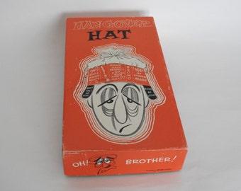 Vintage Hangover Hat- Gag Gift- Bachelorette or Bachelor Party Gift