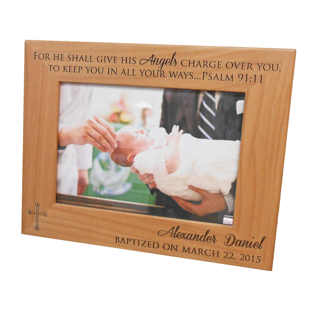 Personalized Baptism Picture Frame: by LifetimeCreations ...