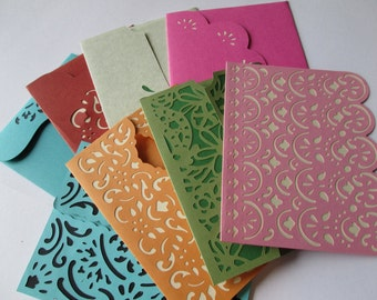 Set of 4 Blank Cards with envelopes