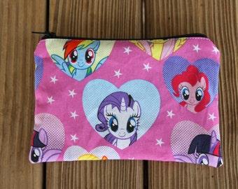 Reusable Snack Bag - My Little Pony Reusable Snack Bag, Zipper Snack Bag