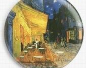 Needle minder for Cross Stitch - Van Gogh Cross Stitch, Café Terrace on the Place du Forum - Tapestry and Needlepoint