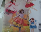 McCalls 6813-- Fairy Costumes for Kids--Sizes 2-5--UNCUT FF