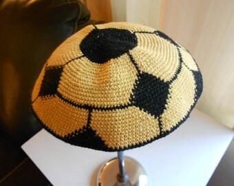 Vintage yarmulke.  Jewish kippa.  Scullcap.