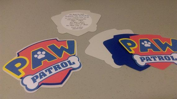 Diy Paw Patrol Invitations Baby Shower By Mythreesonsbykristin
