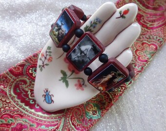 Witches Wooden Devotional Bracelet