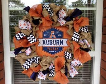 Vintage College Burlap wreath/burlap wreath/all teams burlap wreath/its fall burlap college wreath