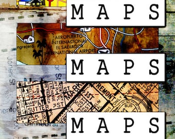 MAPS - autobiographical comic