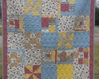 Quilt-When Life Gives You Scraps Make a Quilt