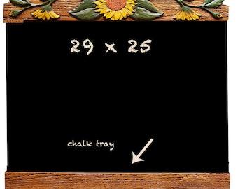 Sunflower Kitchen Chalkboard