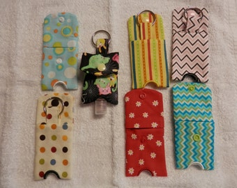 Hand Sanitizer Holder,sanitizer holder,keychain,fabric keychain,key fob