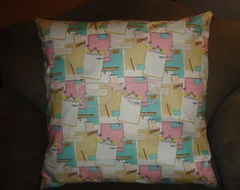 Memo to Self Large Bedroom Throw Pillow