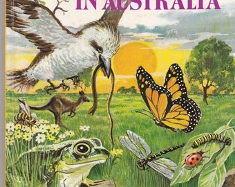 ON SALE Conservation in Australia - Opal Books -  Vintage Childrens Book - 1970s
