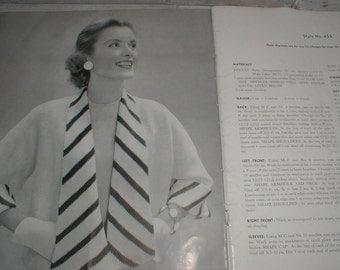 1956 Bernat Handicrafter *Quick Little Jackets* 21 Bulky Styles *Knitting & Crochet Patterns Booklet*