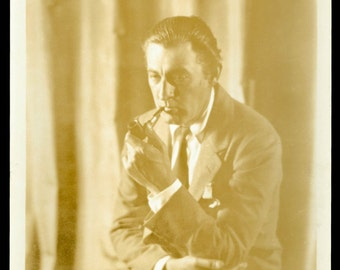 1920s-30s JOHN BARRYMORE Vintage Warner Bros Film Movie Still Photograph Photo
