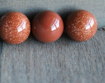 20 mm Goldstone Stone Sphere S57
