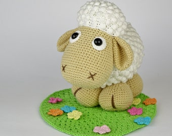Mama Sheep Wolli Crochet Pattern / Amigurumi / PDF e-Book / Tutorial