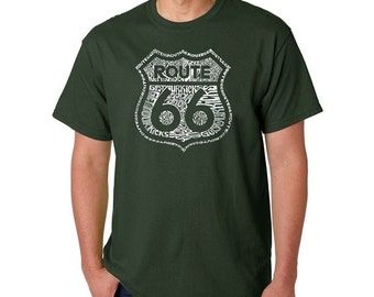 Men's T-shirt - Route 66 - Get Your Kicks