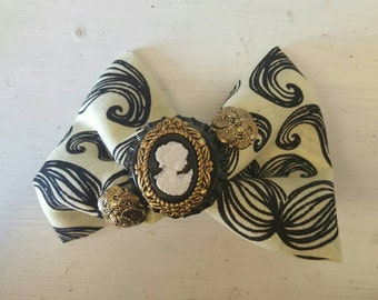 Steampunk-Victorian Hair Bow