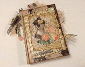 Vintage, Junk Journal, Altered Book, 2 Signatures