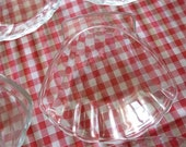 Pyrex Shell Aperitif, Starter Dishes, French Coquille St Jaques Dishes  x 7
