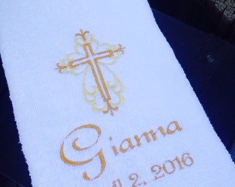 Christening Towel-Baptism Towel
