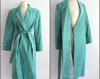 Aqua, Suede coat