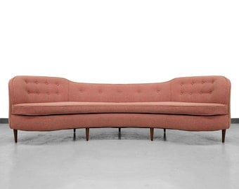 Mint Mid Century Oasis Sofa by Edward Wormley for Dunbar