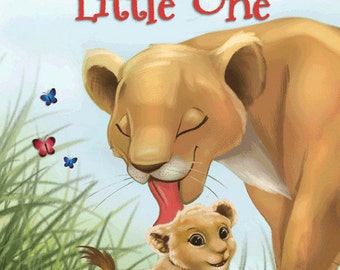 Your Child's Personalized Gift  Rhyming and Counting Book LITTLE ONE ships in 24 hours and available in many languages