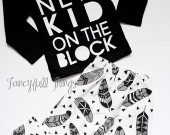 New kid on the block baby outfit