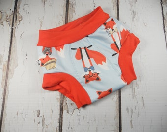 Cloth Training pants, 18 months cloth trainers Potty Learning Bumstoppers Toddler Foxy Fox
