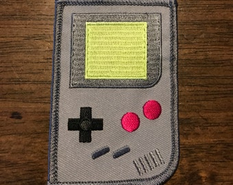 "The Wooden Arcade ""Gameboy Patch"""