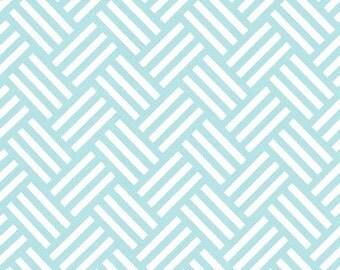 Tatami (Aqua) - BEKKO - Trenna Travis - Michael Miller Fabrics - 1 Yard