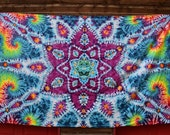 GIANT Tapestry ~ 2016 025 300 6 Point Mandala with spirals 144 X 90
